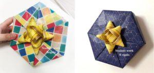六角形ラッピング